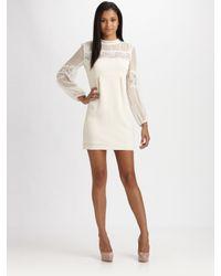 Nanette Lepore Natural Ponderous Dress