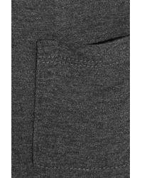 T By Alexander Wang | Gray Jersey T-shirt Dress | Lyst