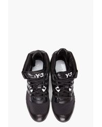 Y-3 - Gray Courtside Trainer  for Men - Lyst