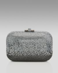 Judith Leiber | Metallic Ombre Crystal Clutch | Lyst