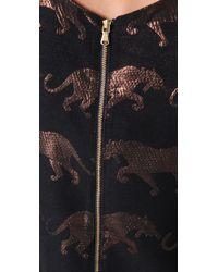 Marc By Marc Jacobs Blue Panthera Lurex Jacquard Dress