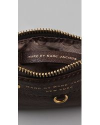 Marc By Marc Jacobs | Brown Preppy Leather Key Pouch | Lyst