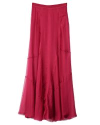 Rag & Bone | Pink Feather Skirt | Lyst