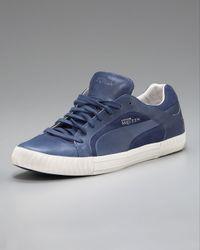 Alexander McQueen X Puma Blue Street Climb Low-top Sneaker for men