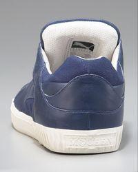 Alexander McQueen X Puma - Blue Street Climb Low-top Sneaker for Men - Lyst