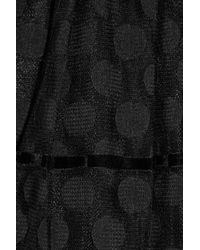 Alice By Temperley Black Opal Polka-dot Lace Dress