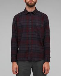 Cheap Monday | Brown Neo Shirt in Big Check for Men | Lyst