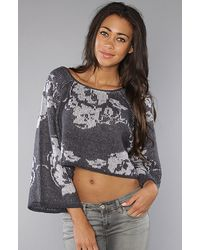 Free People | The Purple Rain Pullover | Lyst