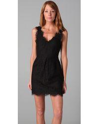 Joie Black Rori Lace Dress
