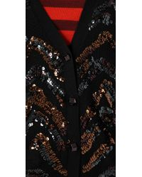 Marc By Marc Jacobs Black Hobbes Cardigan Sweater