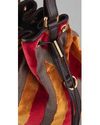 Marc By Marc Jacobs Yellow Regine Velvet Bag