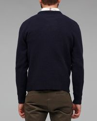 Our Legacy - Blue Boiled Crew Neck Knit for Men - Lyst