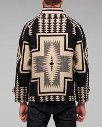 Pendleton - Black Reversible Toboggan Coat for Men - Lyst