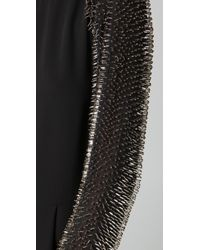 3.1 Phillip Lim Black Jumpsuit with Beaded Sleeves