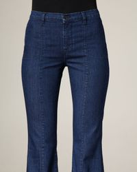J Brand - Blue Loni Waterloo High-rise Flared Jeans - Lyst