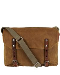 Ally Capellino | Brown Camel Mini Jeremy Messenger Bag | Lyst