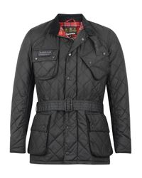 Barbour | Black International Quilted Jacket for Men | Lyst