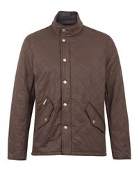 Barbour | Brown Chelsea Sportsquilt Jacket for Men | Lyst