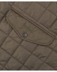 Barbour - Natural Olive Chelsea Sportsquilt Jaket for Men - Lyst