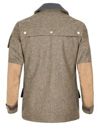 Barbour | Brown Tan Scott Bracken Tweed Jacket for Men | Lyst