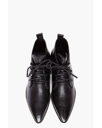 Camilla Skovgaard Black Flat Lace Up Boots
