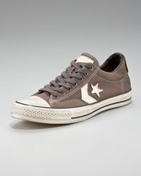 Converse | Brown Star Player Canvas Sneaker for Men | Lyst