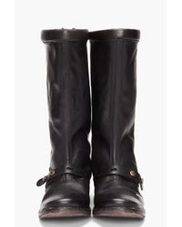 Diesel Black Gold Black Barney I Boots for men