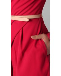 Dolce Vita | Red Daisy Long Sleeve Romper | Lyst