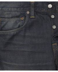 Edwin | Blue Biker Wash Ed-55 Jeans 32l for Men | Lyst