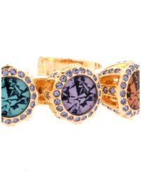 Disaya - Metallic Marry Me Diamond Bangle - Lyst