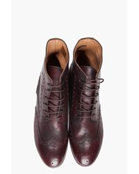Paul Smith Brown Hal Boots for men