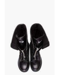Y-3 Black Rogue Boots
