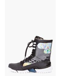 Y-3 Black Warrior High Boots for men