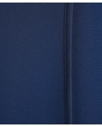 3.1 Phillip Lim | Blue Silk Curved Binding Dress | Lyst