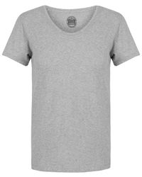 Acne | Gray Grey Limit Scoop Neck T-shirt for Men | Lyst