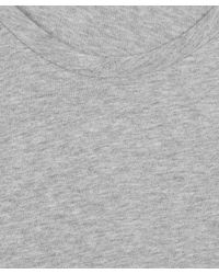 Acne Studios - Gray Grey Limit Scoop Neck T-shirt for Men - Lyst