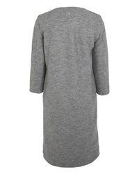 Acne Studios Gray Grey Rina Felt Coat