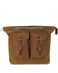 Ally Capellino | Natural Camel Frank Wax Rucksack for Men | Lyst