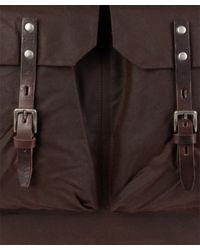 Ally Capellino - Brown Cocoa Frank Wax Backpack for Men - Lyst