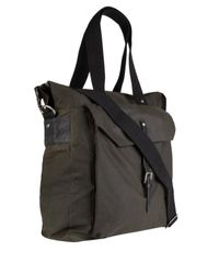 Ally Capellino - Green Olive Waxed Cotton Timothy Bag for Men - Lyst