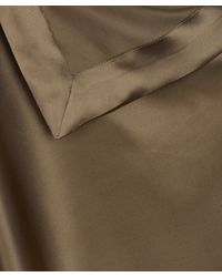 Vivienne Westwood Anglomania Metallic Gold Silk Scarf Dress