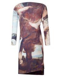 Vivienne Westwood Anglomania - Multicolor Renaissance Drape Dress - Lyst