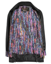 Barbour Black Dominika Liberty Print Beadnell Jacket