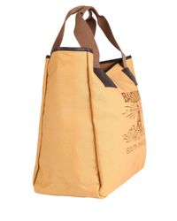 Barbour Natural Canvas Beacon Tote Bag for men