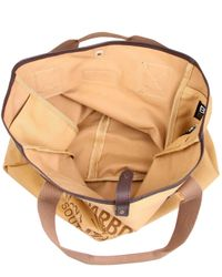 Barbour - Natural Canvas Beacon Tote Bag for Men - Lyst