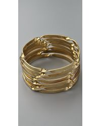 By Malene Birger | Metallic Typaro Bangle Set | Lyst