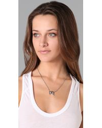 Elizabeth and James | Metallic Crab Pendant Necklace with Ruby Eyes | Lyst