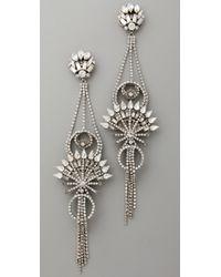 Erickson Beamon - Metallic China Club Earrings - Lyst