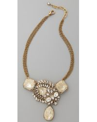 Erickson Beamon - Metallic Gold Digger Necklace - Lyst