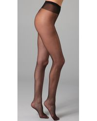 Falke Black Fond De Poudre Sheer Tights